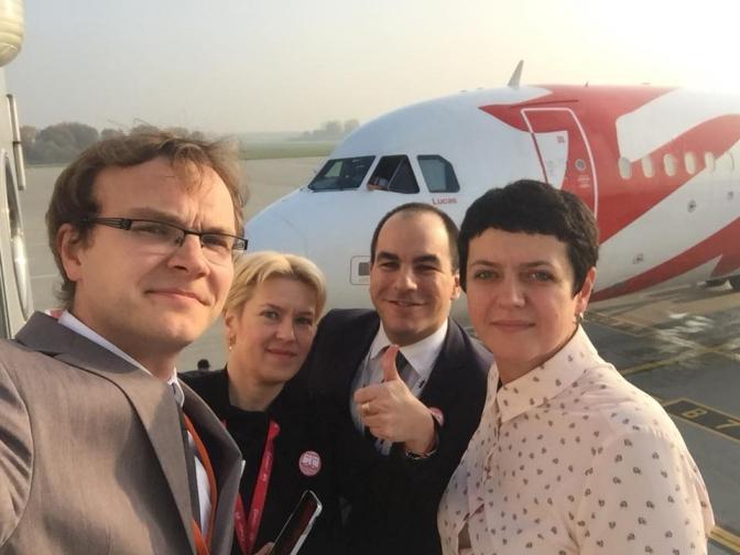 Пакуй валізи: до Львова прилетів перший літак з Мілана фото