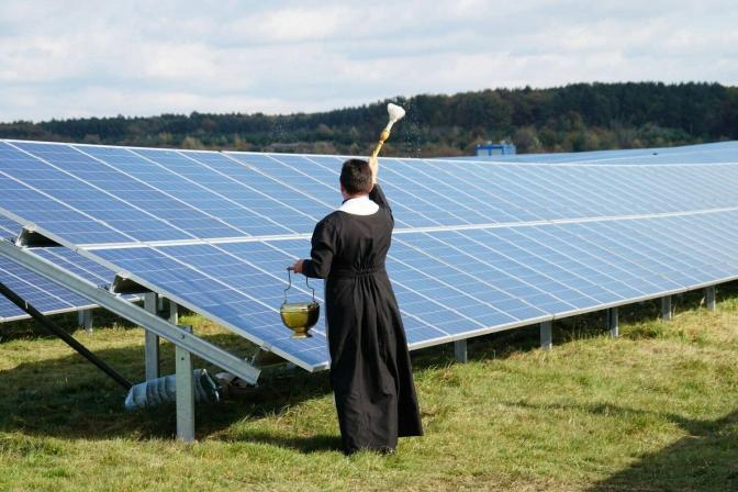 Зелена енергетика: на Львівщині відкрили сонячну електростанцію фото 1