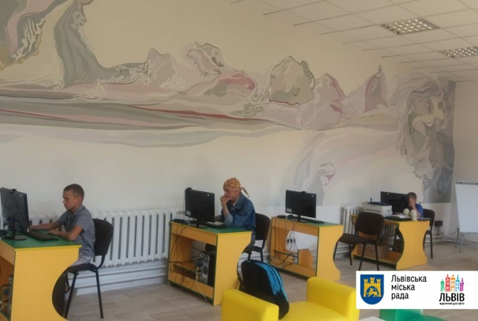 Крісла-мішки, коворкінг та спорт-арена: у Львові відкрили новий простір для читання фото 1