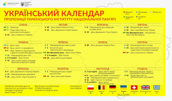 В Україні пропонують скоротити кількість вихідних