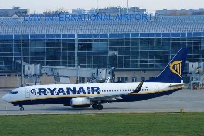 Ryanair оголосив розпродаж квитків на рейси зі Львова від 6 євро d9f0fa5b3a47d