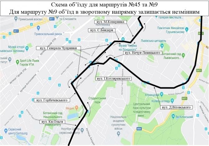 Частину вулиці Сахарова закрили для проїзду