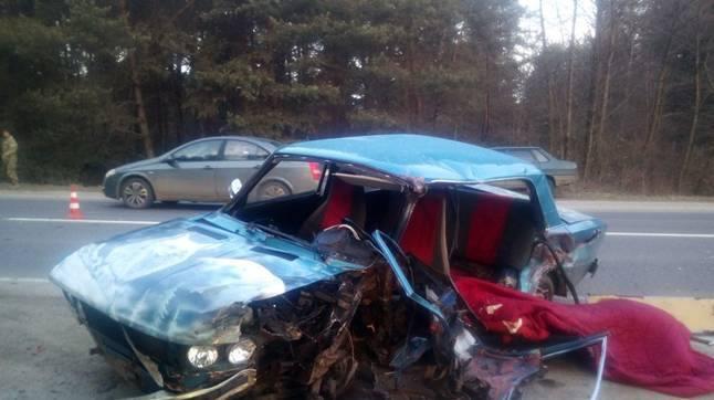 НаЛьвівщині Mitsubishi зіткнувся завто військових: є загиблий і поранені