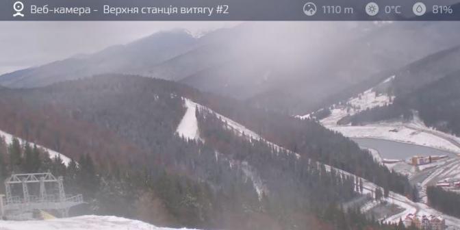 Гайда на лижі: в Карпатах випав сніг фото 3