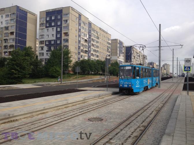 Фотофакт: запрацювала кінцева зупинка трамвая №8 на Сихові фото