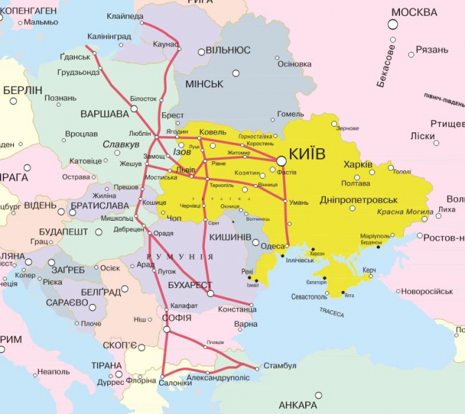 """""""На повестке дня """"Виа Карпатия"""" - новая автомагистраль, соединяющая Балтику и Черное море через Украину"""", - Омелян анонсировал шаги по развитию дорожной инфраструктуры - Цензор.НЕТ 8120"""