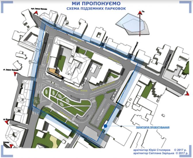 Візуалізація: як  зміниться площа Петрушевича у Львові фото
