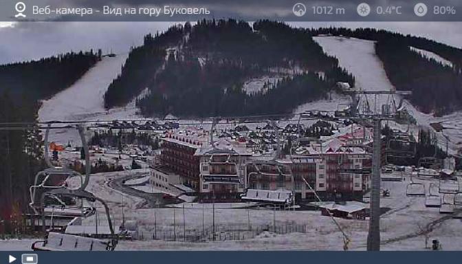 Гайда на лижі: в Карпатах випав сніг фото