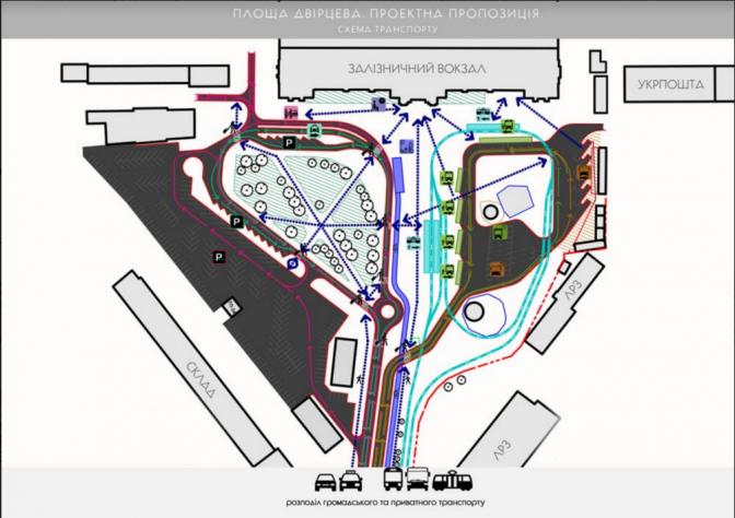 Візуалізація: як виглядатиме площа Двірцева фото 6
