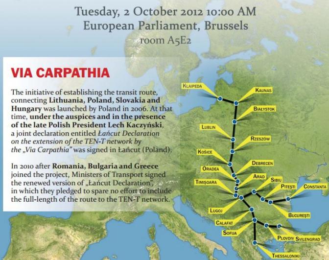 Міжнародна дорога Via Carpatia проходитиме через Львів та Київ (візуалізація) фото 2