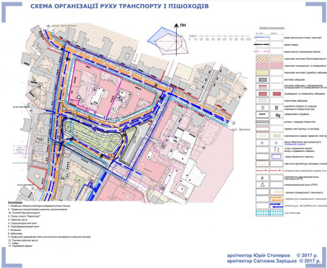 Візуалізація: як  зміниться площа Петрушевича у Львові фото 3