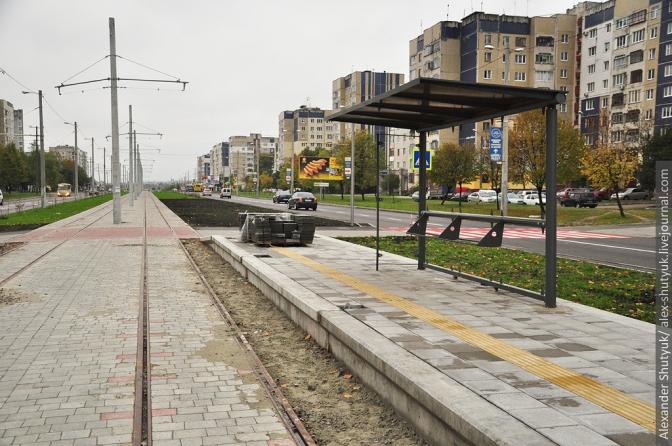 Фінал будівництва трамвайної колії на Сихів: фотохроніка фото 3