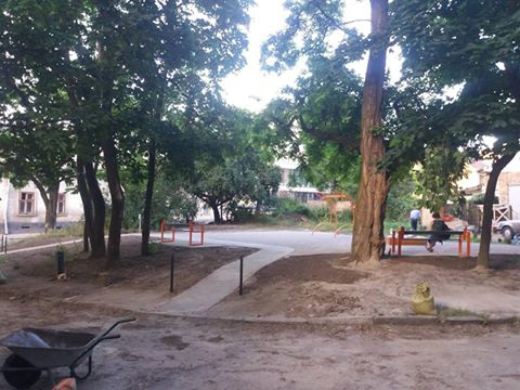 фото: зі сторінки події «Відкриття скверу на Донецькій» у мережі Facebook