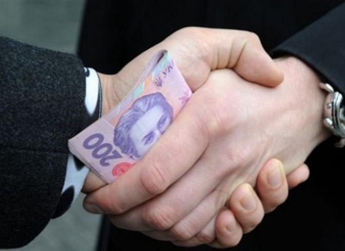 Кому на Західній Україні найчастіше дають хабарі.  Результати ...