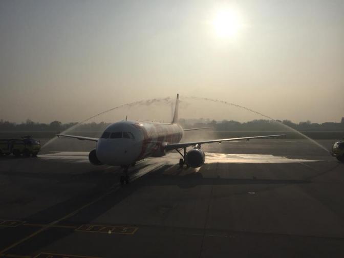 ДоЛьвова прилетів літак з Мілану (ВІДЕО)
