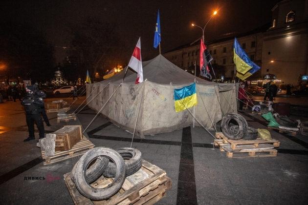 У Львові відбувся Марш Гідності. Студенти вигукували гасла Революції