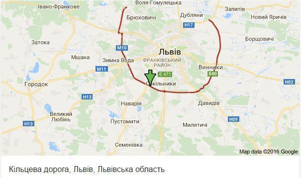 Водіям на замітку: стало відомо, коли почнуть будувати північну об'їзну дорогу Львова фото