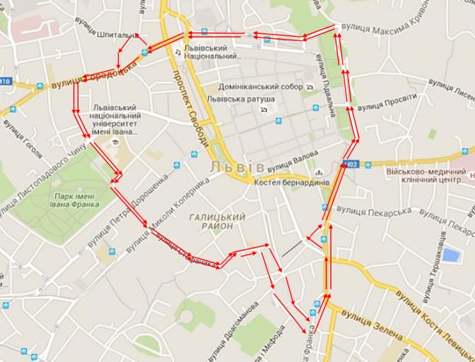 На замітку водіям: у Львові на одній з вулиць змінять організацію руху фото 1
