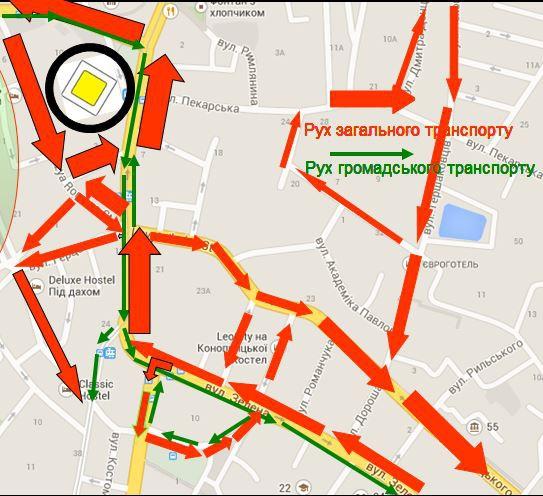 Візуалізація: як  зміниться площа Петрушевича у Львові фото 4
