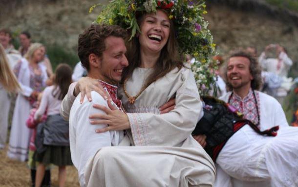 Фото русское с женой
