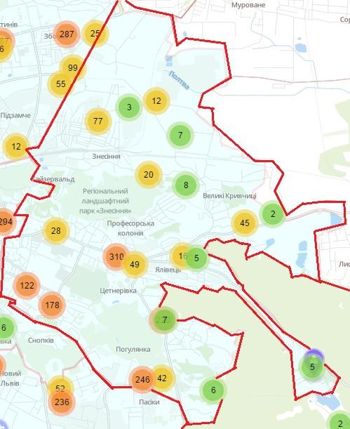 Крадіжки, шахрайство, грабежі: мапа найнебезпечніших районів Львова фото 1