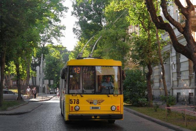 Тролейбус 578 (Львів). Фото надав Антон Лягушкін