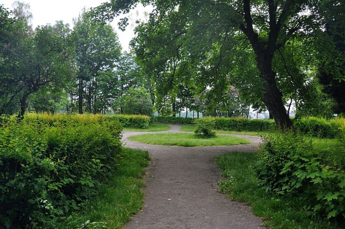 Колись і тепер: як виглядали львівські парки фото 6