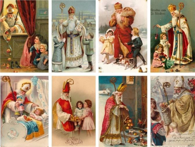 Як святкували День Святого Миколая наші прабабусі й прадідусі
