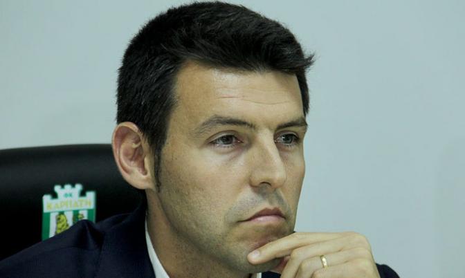 Серхіо Наварро— головний тренер «Карпат»
