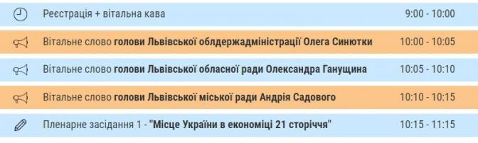 Відвідає навіть Президент: у Львові стартує Міжнародний економічний форум фото