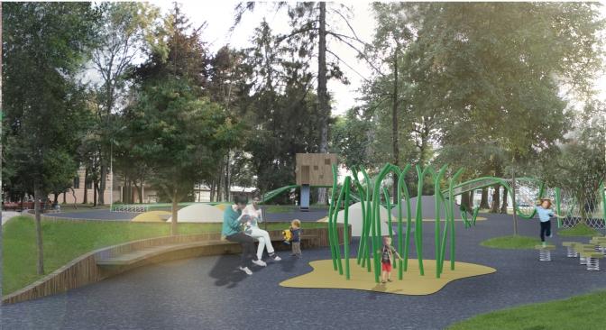 Найкращий проект: яким буде дитячий майданчик у сквері на площі Юра фото 3