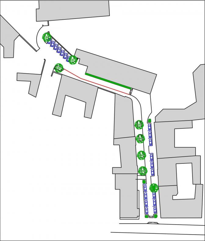 Візуалізація: якою буде вулиця Римлянина у Львові фото 3