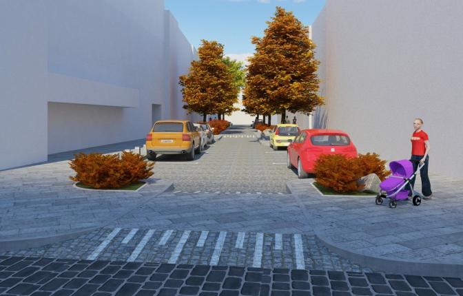 Візуалізація: якою буде вулиця Римлянина у Львові фото 2
