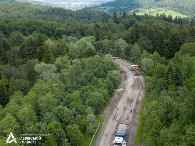 Ведеться ремонт дороги Східниця-Пісочна (ФОТО), фото-5
