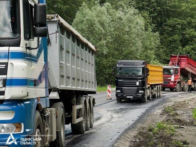 Ведеться ремонт дороги Східниця-Пісочна (ФОТО), фото-1