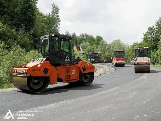 Ведеться ремонт дороги Східниця-Пісочна (ФОТО), фото-3
