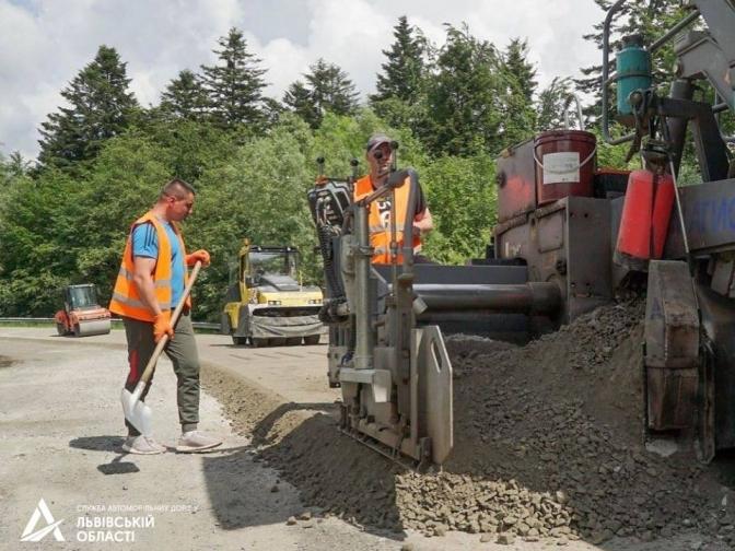 Ведеться ремонт дороги Східниця-Пісочна (ФОТО), фото-2