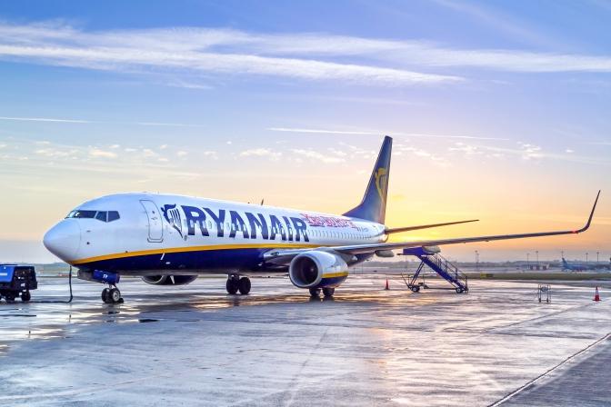 Ryanair оголосив розпродаж квитків зі Львова від 10 євро 1dea1fa72466b