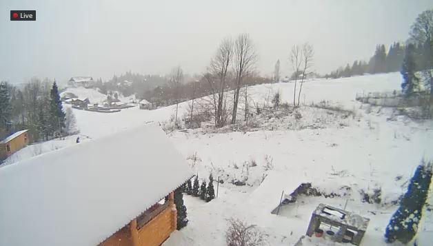 Фотофакт: курорти Карпат засипає снігом фото 4