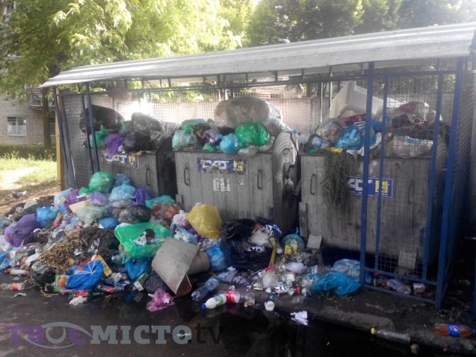 Отримай відповідь: куди скаржитись у Львові на переповнені смітники фото