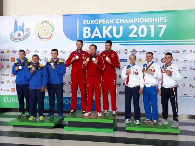 Українець виграв чемпіонат Європи зі стрільби