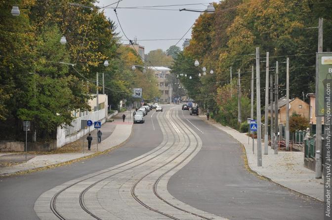 Фінал будівництва трамвайної колії на Сихів: фотохроніка фото 11