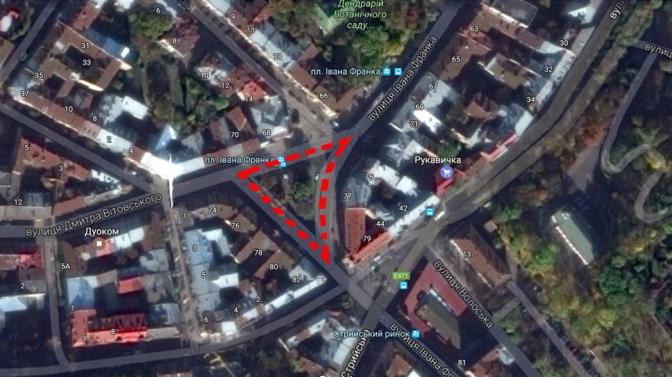 Візуалізація: як відремонтують площу Івана Франка фото