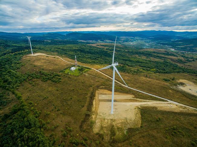 Вітер змін: як за 100 кілометрів від Львова працює вітроелектростанція
