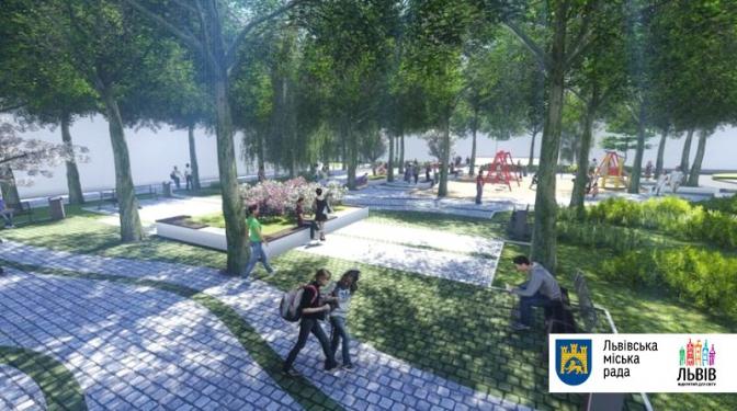 Гойдалки для дорослих та питні фонтани: які громадські простори хочуть оновити у Львові фото 4