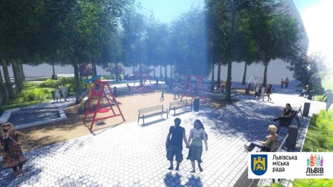 Гойдалки для дорослих та питні фонтани: які громадські простори хочуть оновити у Львові фото 5