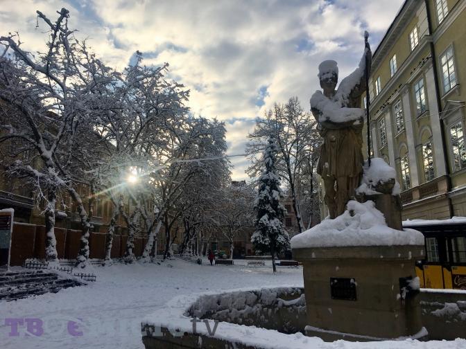 Мороз та сніг. Прогноз погоди у Львові на тиждень 3280d825e9921