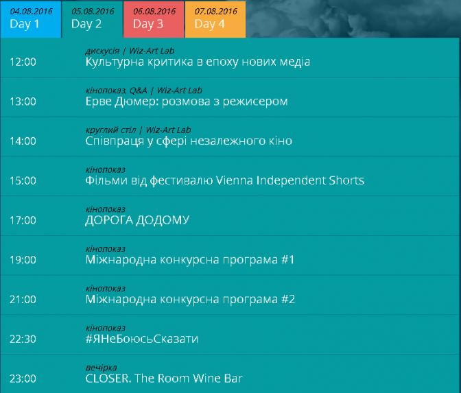 Сьогодні у Львові стартує фестиваль короткого метру Wiz-Art: повна програма фото 1