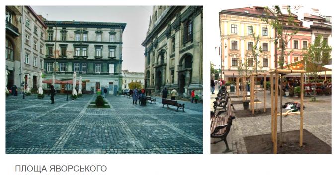 Дивись: у Львові облаштували 30 громадських просторів фото