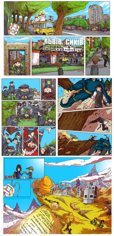 Дивись: про Сихів намалювали комікс фото 1